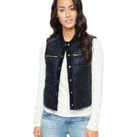 Tweed Puffer Vest by Juicy Couture