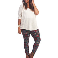 Aztec Legging | Wet Seal+