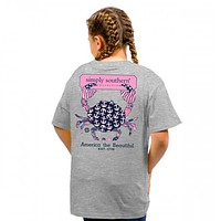 Youth Preppy 1776 Tee by Simply Southern