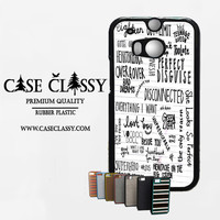 5sos songs HTC One M8 Case CaseClassy