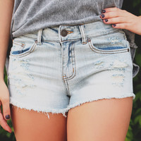 Moving On Denim Shorts