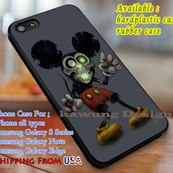 Mickey Mouse Zombie iPhone 8+ 7 6s Cases Samsung Galaxy S8 S7 edge NOTE 8 5 4