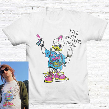 Kill The Grateful Dead T-Shirt. (as worn by Kurt Cobain)