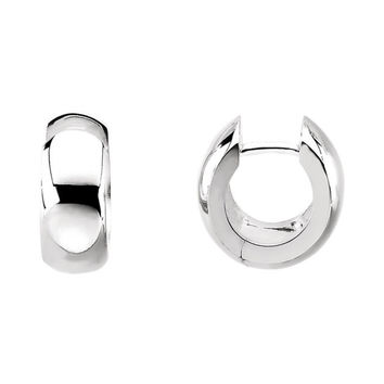 Sterling Silver Hinged Earrings