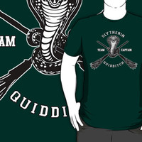Harry potter Slytherin quidditch team Flag