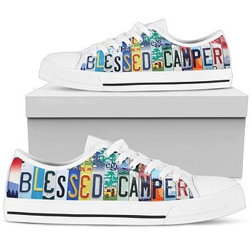 Blessed Camper Low Top