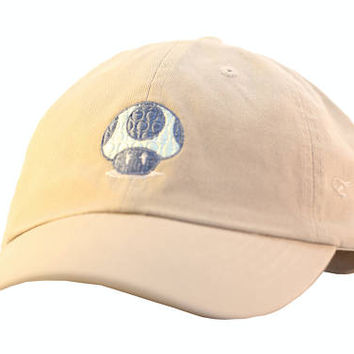 NEW Trippy Mushroom Dad Hat Adjustable back strap Unisexdad hats shrooms Embroidered Dad Hat Dad Cap
