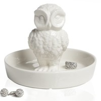 Porcelain Owl Jewelry Bowl |  | Z Gallerie