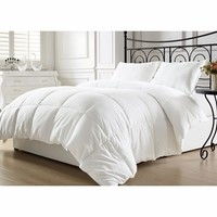 White Down Alternative Comforter Duvet Insert Full/Queen