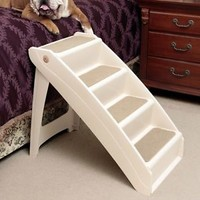 New Pet Stairs Dog Steps Cat Step Ramp Portable Gear Folds Durable Strength Fun