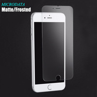 Anti glare Matte Tempered Glass For iphone 7 plus 4s 5 5 6 plus 4.7 5.5 9H Frosted screen protector For samsung galaxy s4 s5 s6