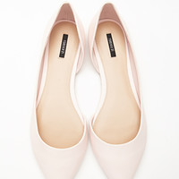 Pointed Cutout-Side Flats