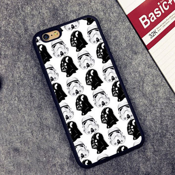 Star Wars Dark Side Printed Soft Rubber Mobile Phone Cases For iPhone 6 6S Plus 7 7 Plus 5 5S 5C SE 4 4S Cover Skin Shell