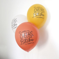 Cheers Bitches Party Balloons