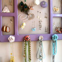DIY Jewelry On Walls