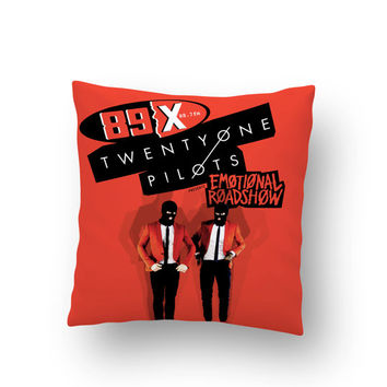 Twenty One Pilots Pillow Case // Twenty One Pilots // Cushion Case // Pillow Cover TOP01