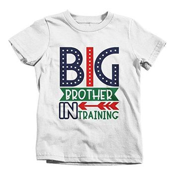 Shirts By Sarah Boy's Big Brother in Training T-Shirt Promoted Shirt Baby Announcement