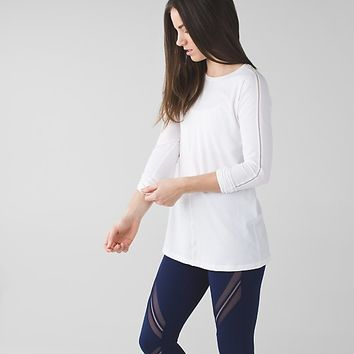 trapeze long sleeve | long sleeve yoga & running tops | lululemon athletica