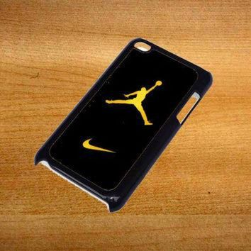 VONR3I Air Jordan Jump Man Air Design For iPod Touch 4 Case *76*