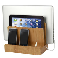 Bamboo Multi-Charging Station