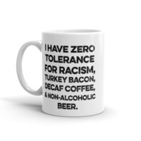 Zero Tolerance Coffee Mug