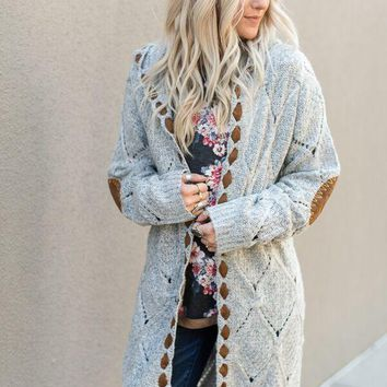 Hideaway Chunky Duster Sweater