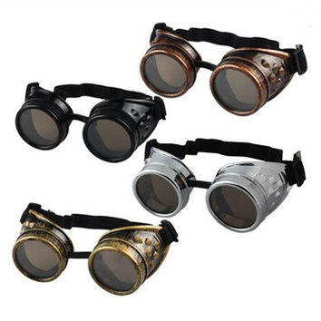 Steampunk Goggles Welding Punk Gothic Glasses Cosplay