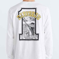 Dark Seas Big Game Long-Sleeve Tee- White