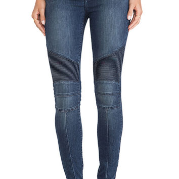 Lovers + Friends Aaron Moto Skinny Jean in Kingsley