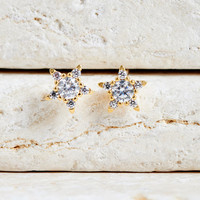 Wish Upon A Star Stud Earrings