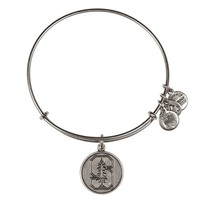 Alex and Ani Stanford University Logo Charm Bangle - Rafaelian Silv...