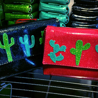 Wristlet- with Cactus