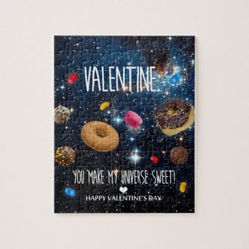 You make my universe sweet Valentine! Jigsaw Puzzle