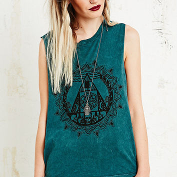 Truly Madly Deeply Between Two Worlds Tank - Urban Outfitters