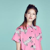 Lazy Oaf Spotty Dog Shirt