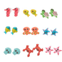 Under the Sea Critter Stud Earrings