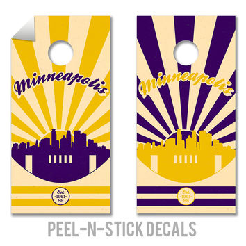 Minnesota Vikings Decals