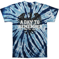 A Day To Remember Men's  Friends Tie Dye Tie Dye T-shirt Multi