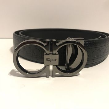 Black Salvatore Ferragamo Belt