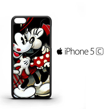 Hugs and Kisses Mickey Minnie mouse Z1557 iPhone 5C Case