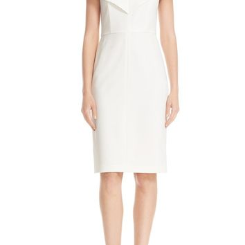 Alice + Olivia Luana Off the Shoulder Sheath Dress | Nordstrom