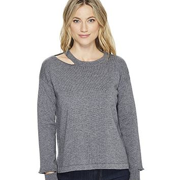 LNA Perry Cut Out Sweater