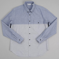 dana lee - tonal shirt blue block