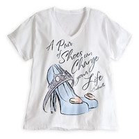 Cinderella Slipper Tee for Women - Plus Size