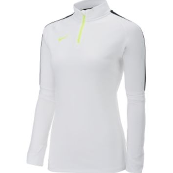 Nike Women's Squad Midlayer Quarter Zip Long Sleeve Soccer Shirt | DICK'S Sporting Goods