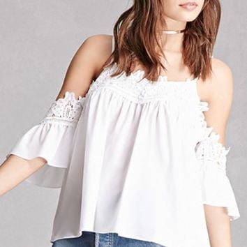 Crochet Open-Shoulder Top