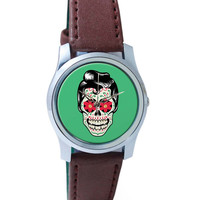 Tattoo Skull Wrist Watch