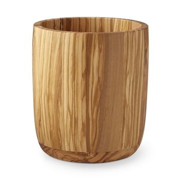 Olivewood Utensil Holder
