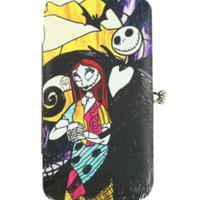 The Nightmare Before Christmas Jack & Sally Kisslock Hinge Wallet