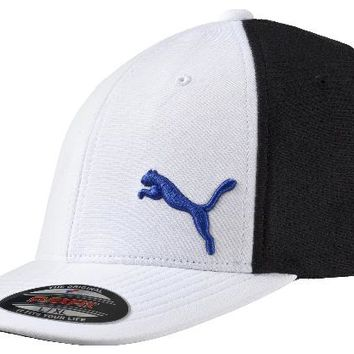 Licensed Golf New Puma  Performance Mesh Flexfit 2016 Cap Hat 052962